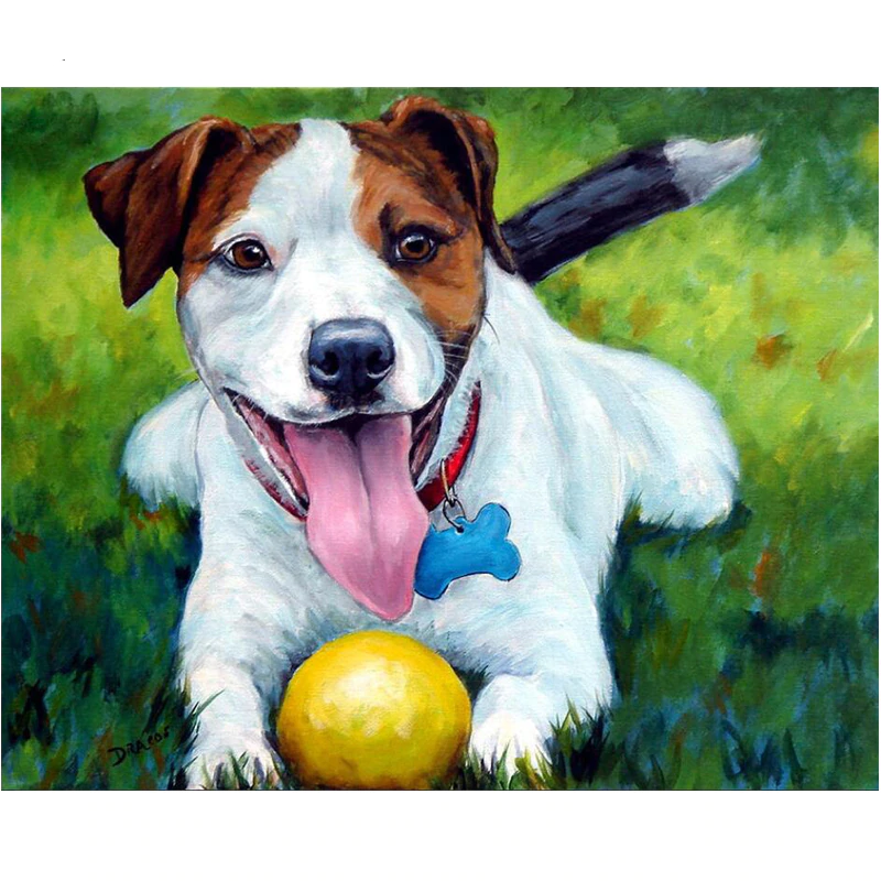 Jack Russell | Diamond Painting