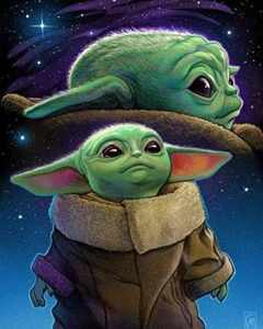 Baby Yoda | Diamond Painting