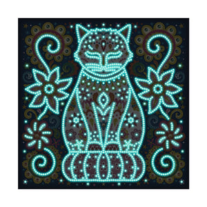 Kat Glow In The Dark | Diamond Painting