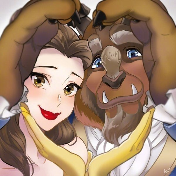Beauty And The Beast | Diamond Painting