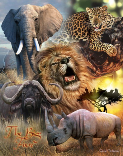 Big Five | Diamond Painting