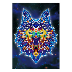 Wolf Glow In The Dark | Diamond Painting