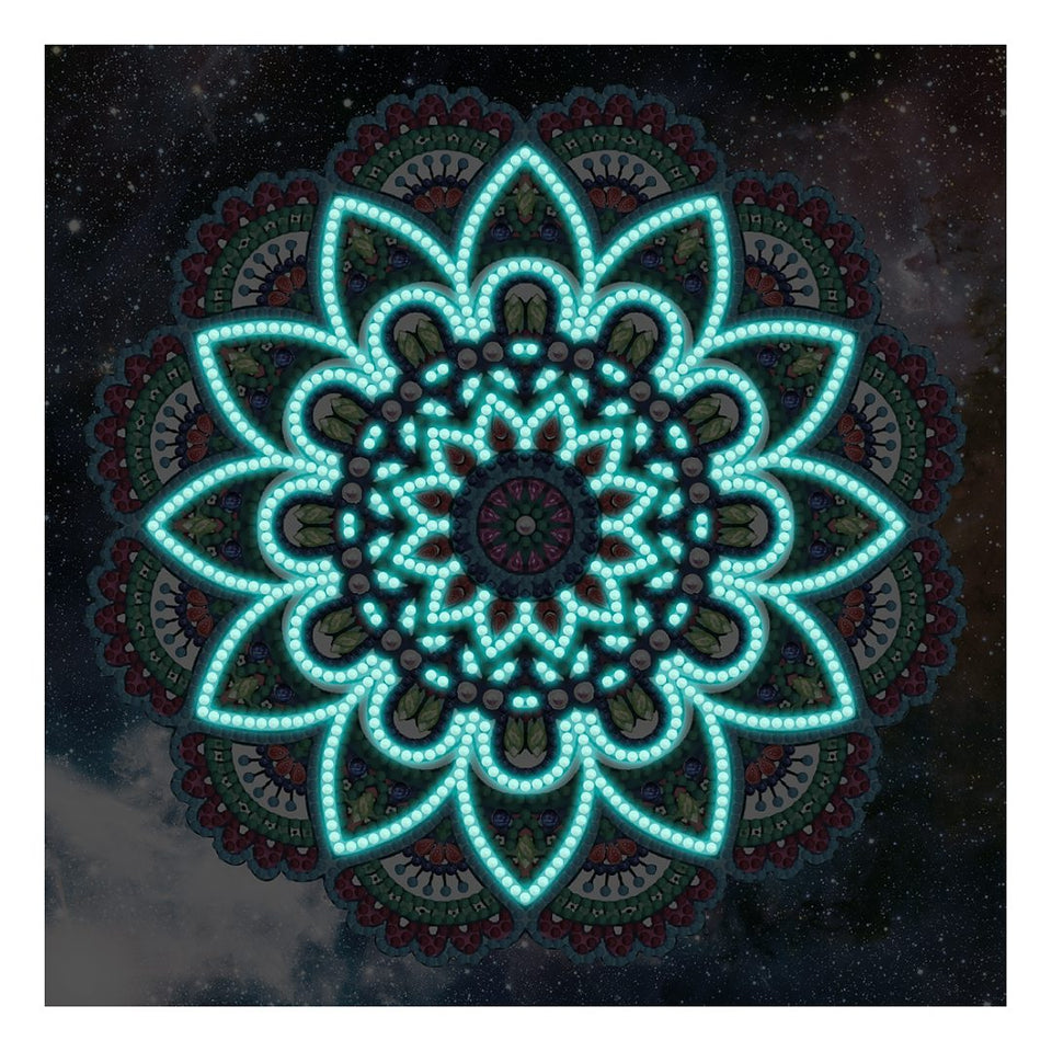 Mandala Glow In The Dark | Diamond Painting
