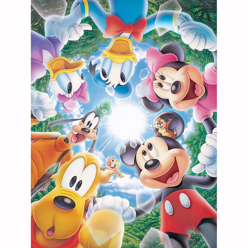 Mickey Mouse & Vrienden | Diamond Painting