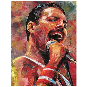 Freddie Mercury | Diamond Painting