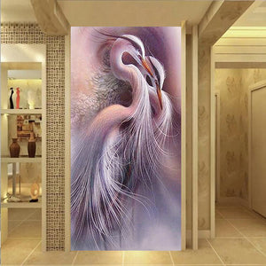 Kraanvogel XL | Diamond Painting