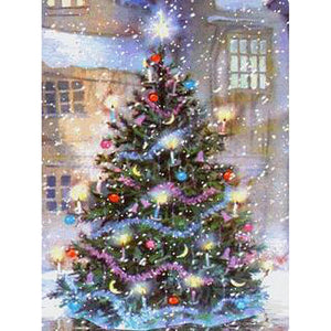 Kerstboom | Diamond Painting