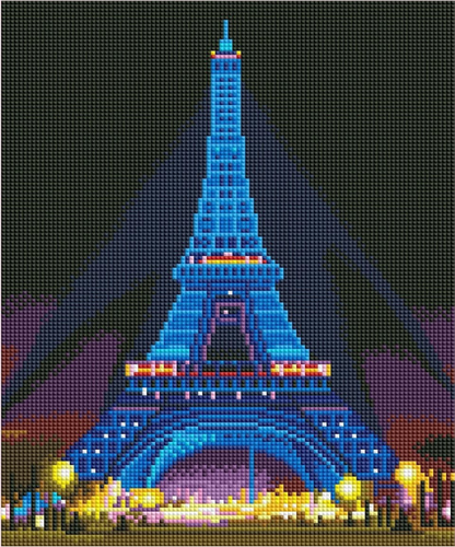 Eiffeltoren LED | Diamond Painting