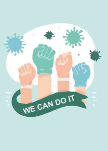We Can Do It | #Blijfthuis