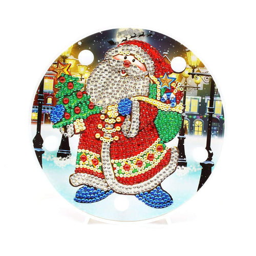 Kerstman LED Lamp | Rond