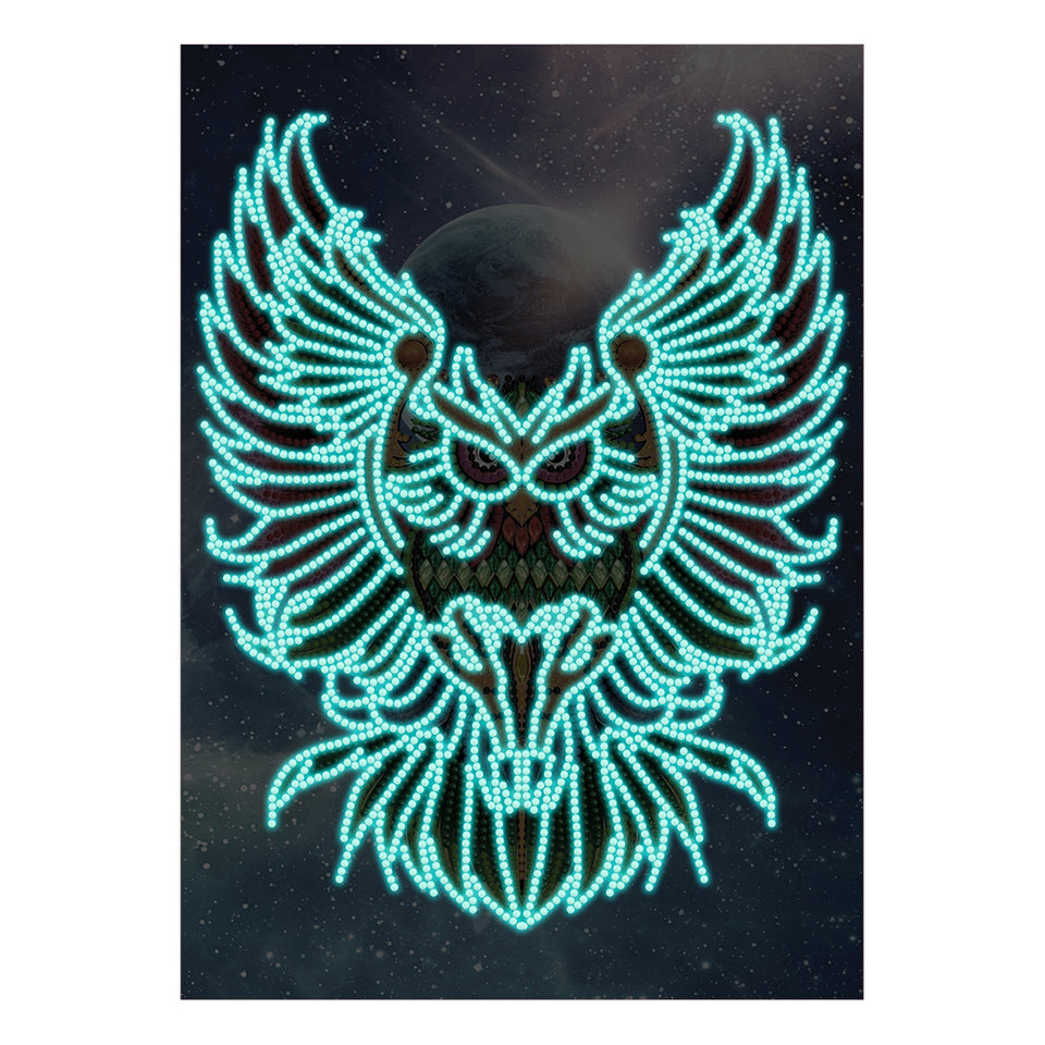 Uil Glow In The Dark | Diamond Painting