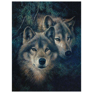 Wolven | Diamond Painting