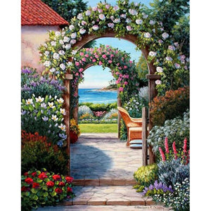 Tuinpad | Diamond Painting
