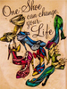 One Shoe Can Change Your Life | Diamond Painting