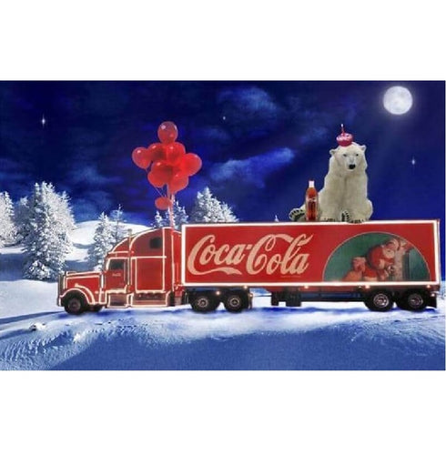 Coca Cola Truck | Diamond Painting
