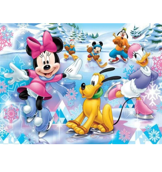 Minnie Mouse & Vrienden | Diamond Painting