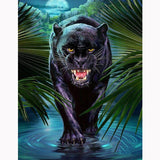 Zwarte Panter | Diamond Painting - Myth Of Asia