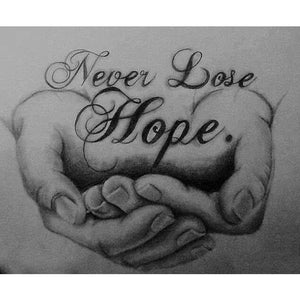 Never Lose Hope | Diamond Painting