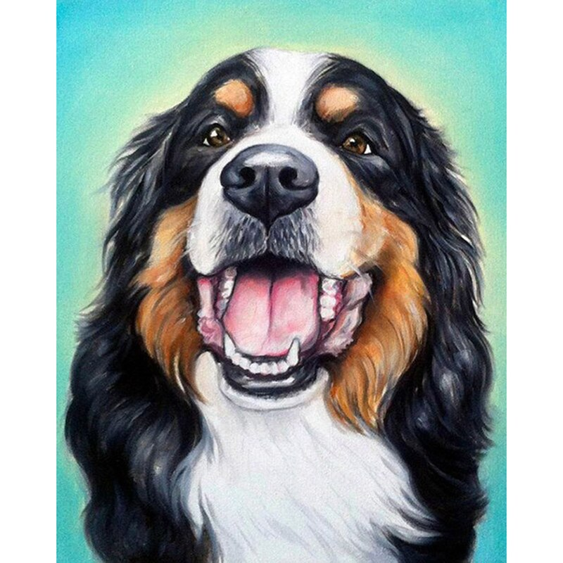 Berner Sennenhond | Diamond Painting