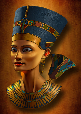 Nefertiti | Diamond Painting - Myth Of Asia