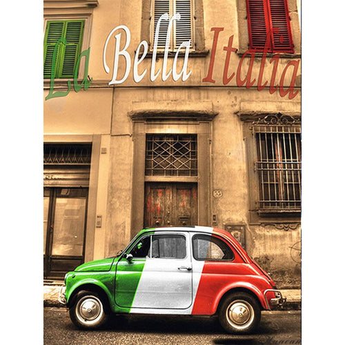 Fiat 500 | Diamond Painting