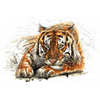 Tijger | Diamond Painting