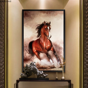 Paard XL | Diamond Painting - Myth Of Asia