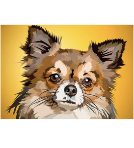 Chihuahua | Exclusieve Diamond Painting - Myth Of Asia