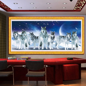 Wolven XL | Diamond Painting