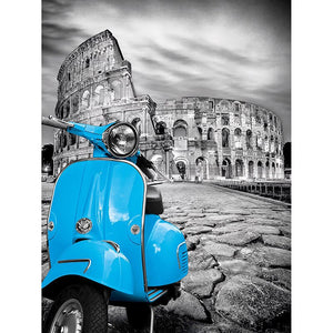 Vespa Oldtimer | Diamond Painting