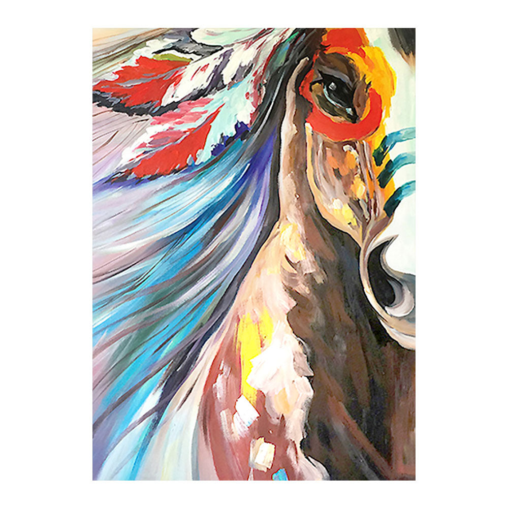 Indianen Paard | Diamond Painting