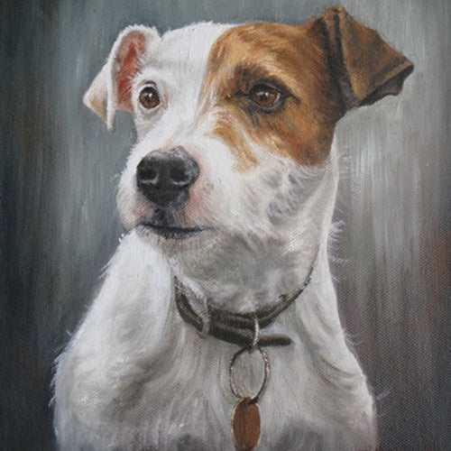 Jack Russel | Diamond Painting - Myth Of Asia