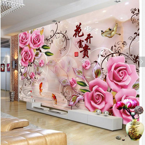 Roze Rozen XL | Diamond Painting - Myth Of Asia
