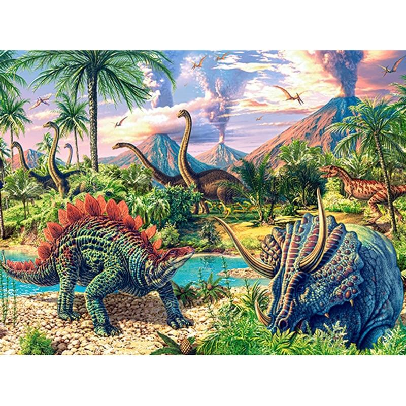Dinosaurus | Diamond Painting - Myth Of Asia
