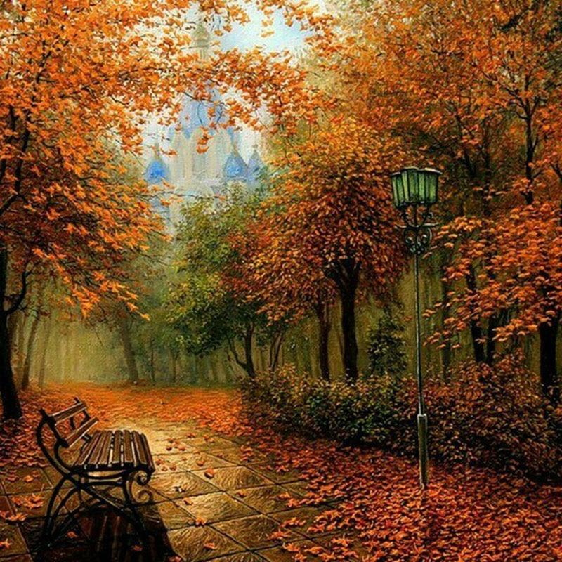 Herfst | Diamond Painting