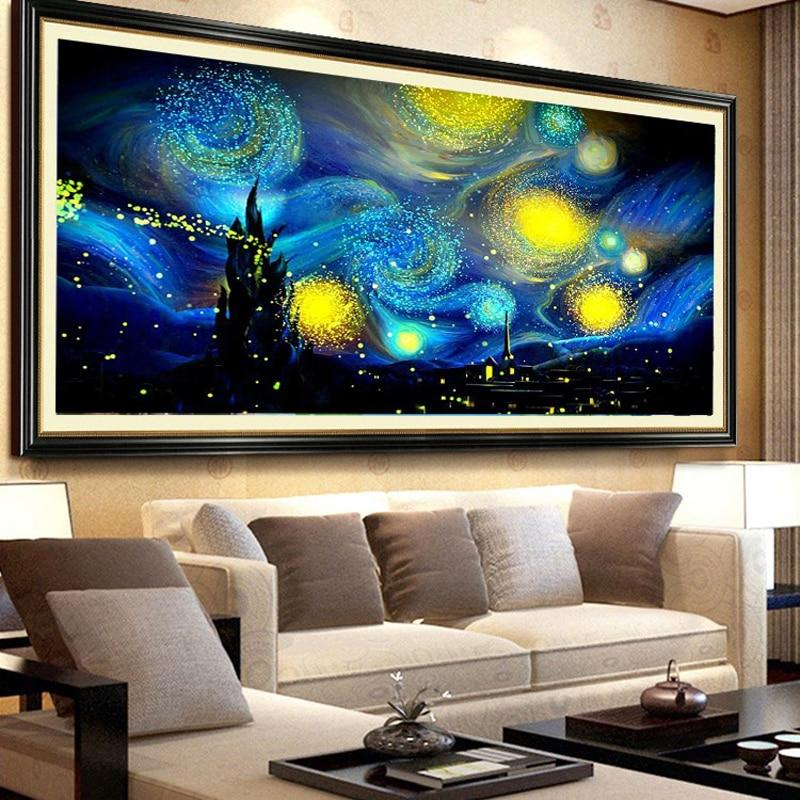 De Sterrennacht XL | Diamond Painting