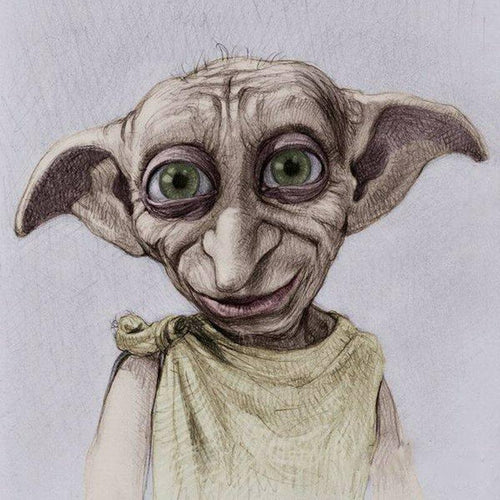 Dobby | Diamond Painting - Myth Of Asia