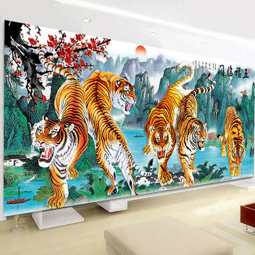Tijger XL | Diamond Painting - Myth Of Asia