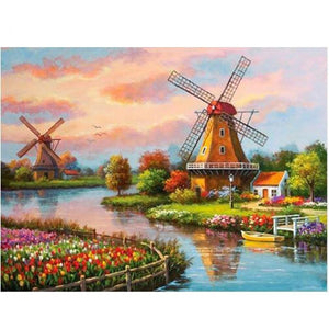 Zaanse Schans | Diamond Painting