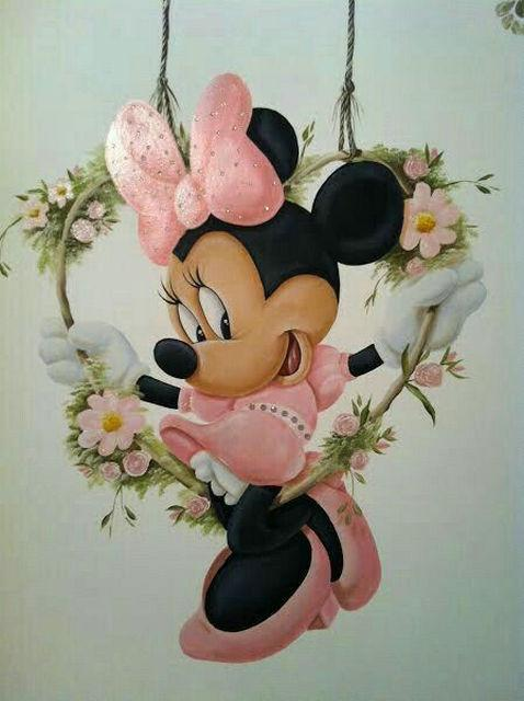 Minnie Mouse | Diamond Painting - Myth Of Asia