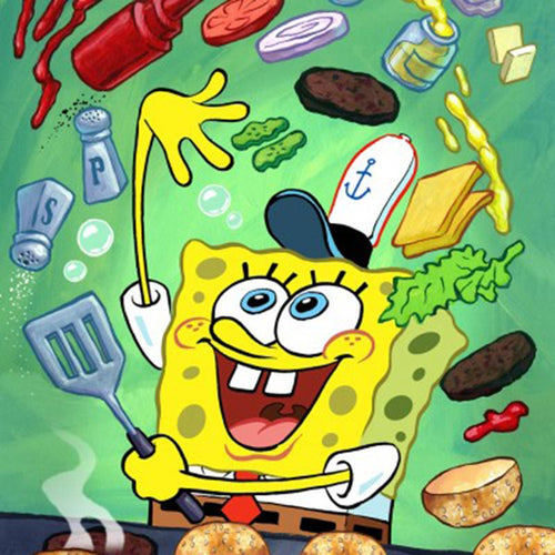 Spongebob | Diamond Painting - Myth Of Asia