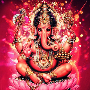 Ganesha | Diamond Painting - Myth Of Asia