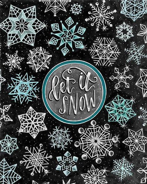 Let It Snow | Diamond Painting