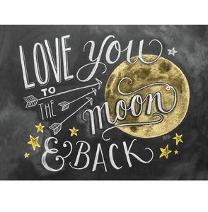 Love You To The Moon And Back | Diamond Painting