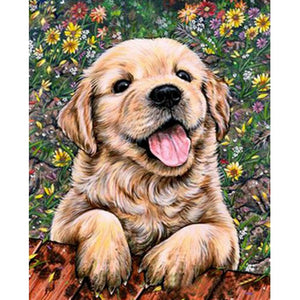 Golden Retriever | Diamond Painting