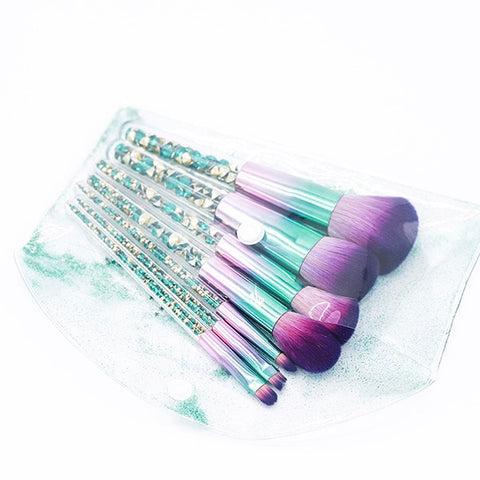 Diamond Unicorn Brush - 7 Pieces