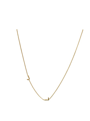 "16"" Gold plated necklace"