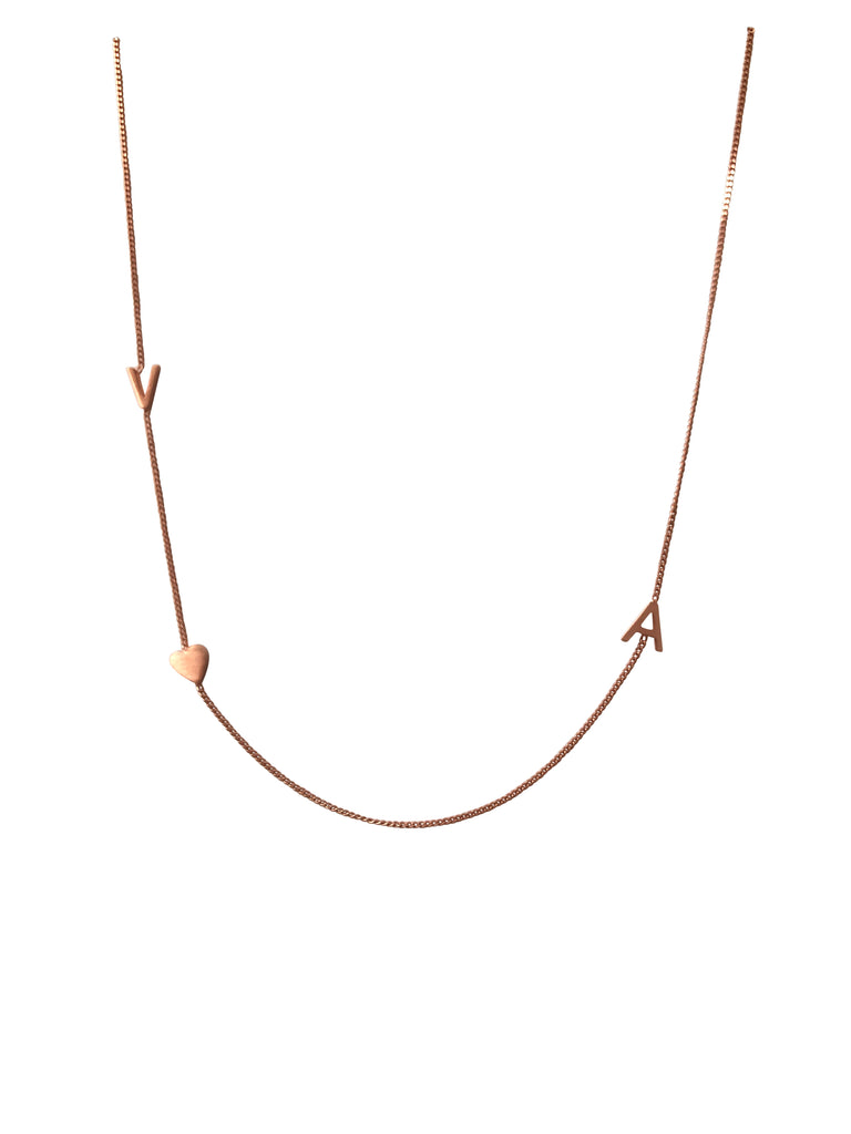 "16"" Rose gold plated necklace"