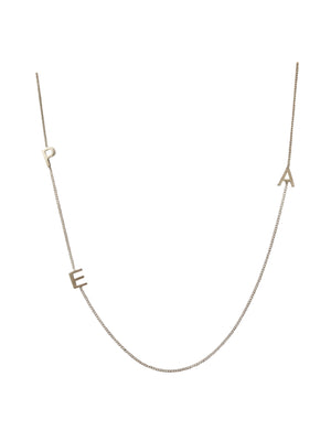 "16"" Sterling silver necklace"