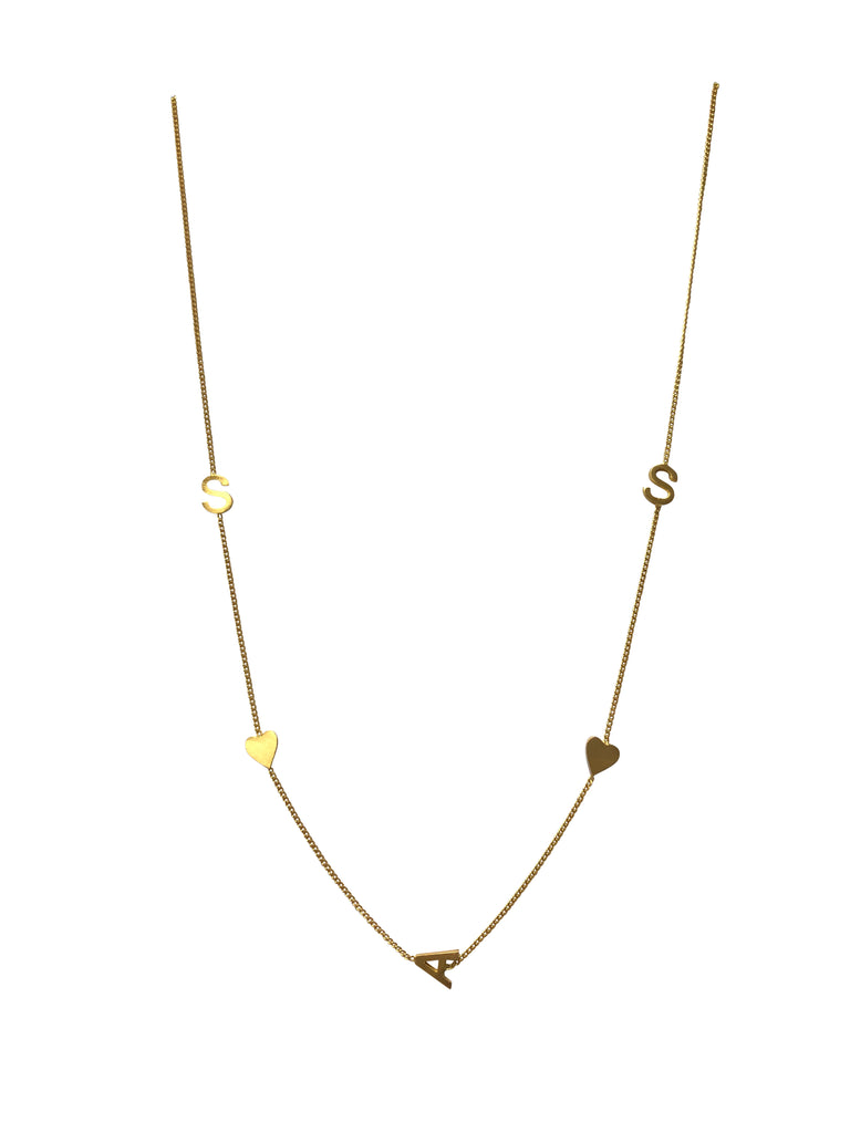 "20"" Gold plated necklace"